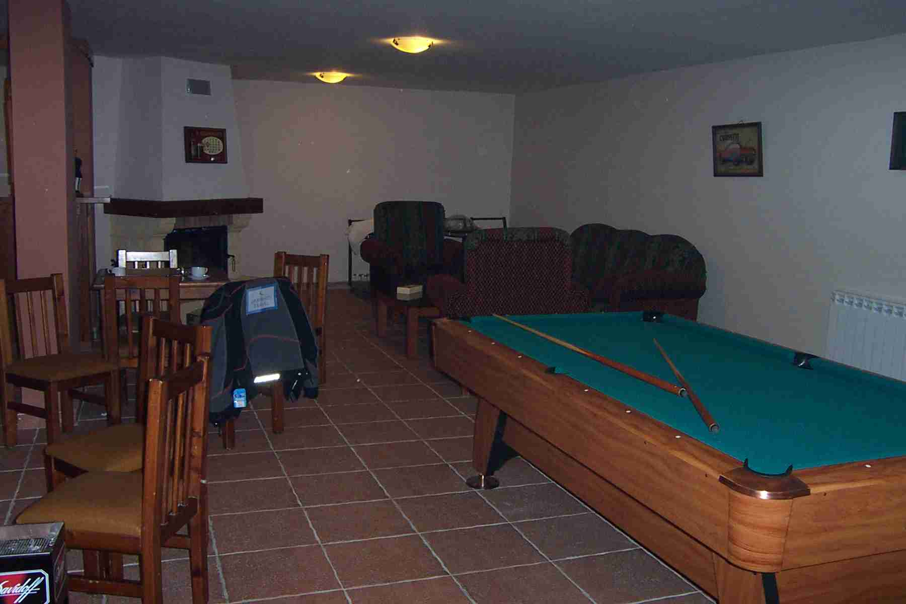 Pool room of Merab Chalets